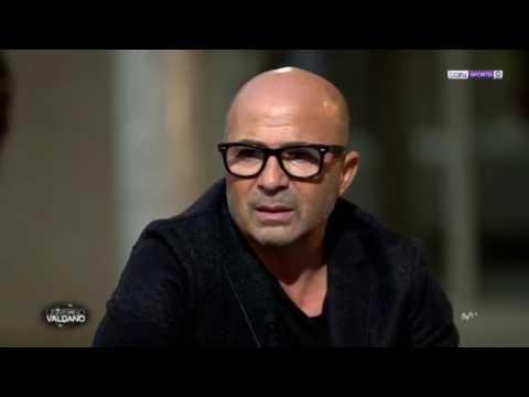 Valdano entrevista a Sampaoli