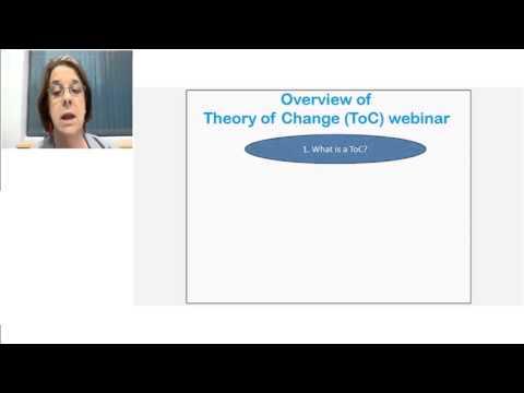 UNICEF Webinar 3  - Theory of Change
