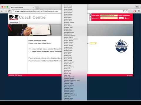 Coach Centre Coach Activation