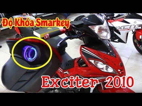 Huyền Thoại Exciter 2010 nâng cấp Khóa Smarkey phong cách 2019   Phú Tài Decal
