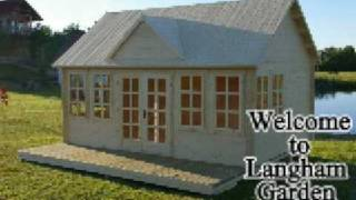 Log Cabins, Custom Log Cabins And Log Home Designs Including Concrete Garages, Log And Timber Garden Offices, Timber Sheds And Timber Homes,