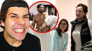 MOM CAUGHT HIM IN DAUGHTERS BED!! Video