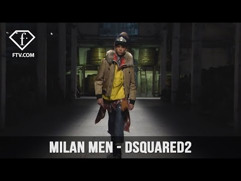 Milan Men FW 17-18 - DSQUARED2 Full Show | FashionTV