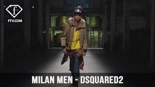 Milan Men FW 17-18 - DSQUARED2 Full Show   FashionTV