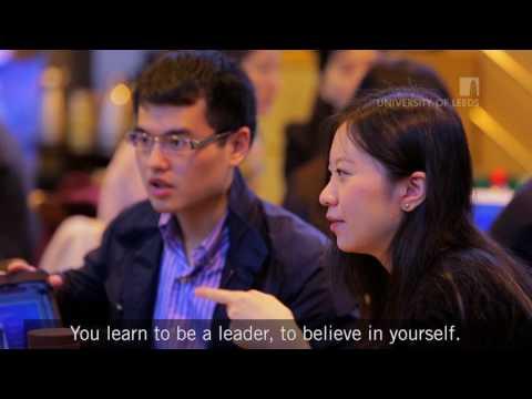 Postgraduate life at Leeds University Business School [subtitled]