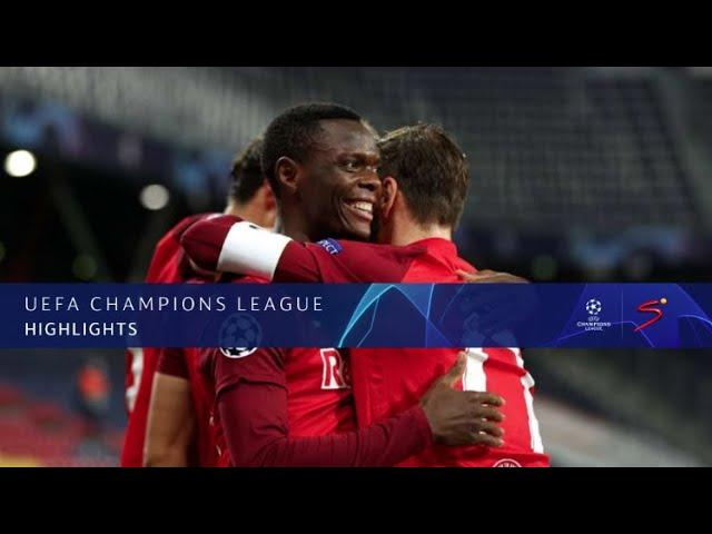 UEFA Champions League | Red Bull Salzburg v Lokomotiv Moscow | Highlights