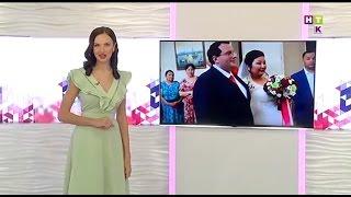 "Видеоролик свадьбы в Костанае ""Daniele & Aigul"" показали по НТК"