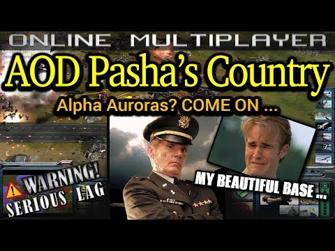 AOD Defend Pasha's Country - Laser General