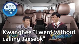 "Kwanghee ""I went without  calling Jaeseok""[Happy Together/2019.02.28]"