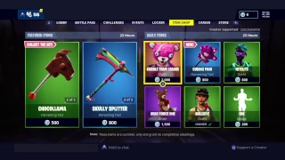 USE CODE QUICKSNIPER - NEW CUDDLE PAW PICAXE - FORTNITE BATTLE ROYALE #subforsub #GeminiTakeover
