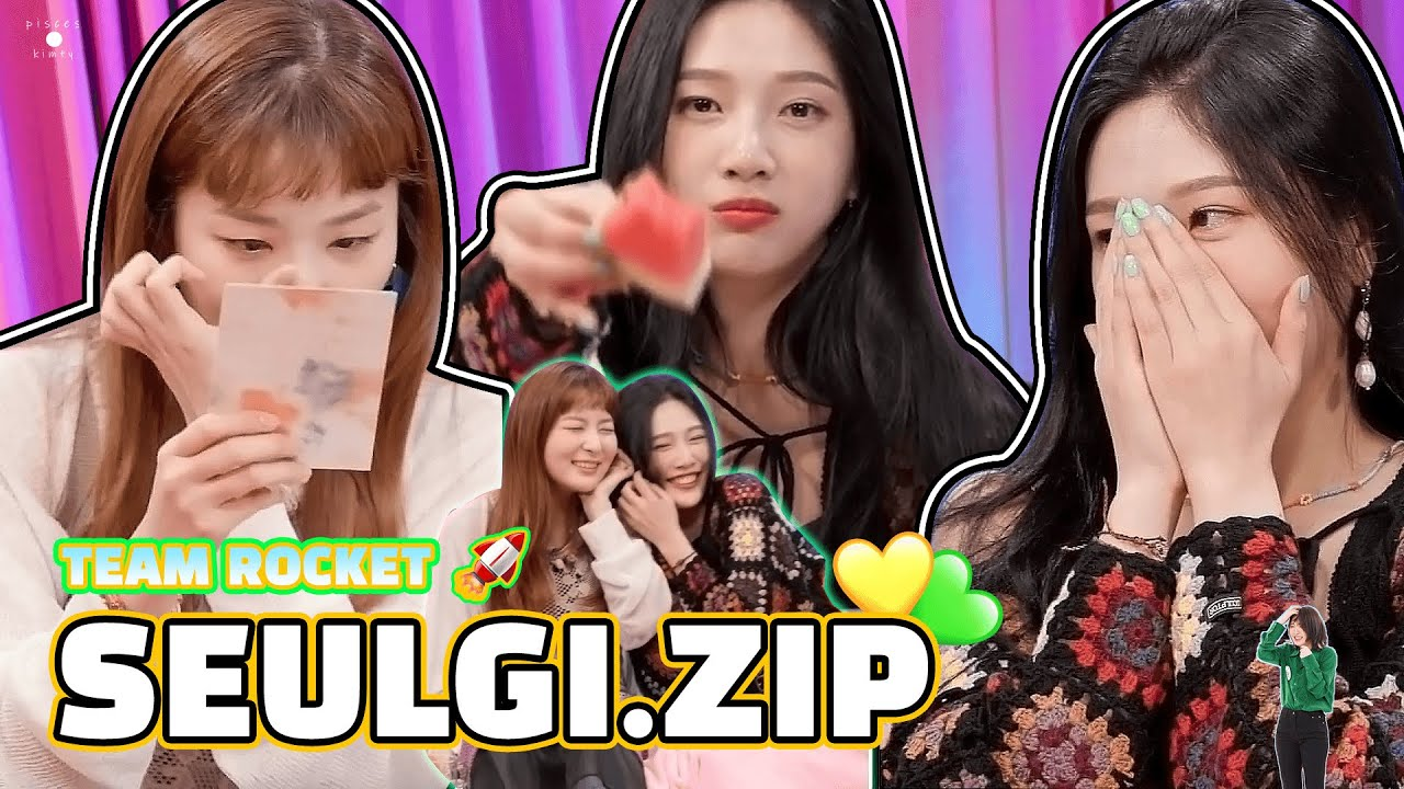 ENG/中字 20 SEULGI.ZIP with Joy 💚💛💙 Let's eat watermelon together  🍉