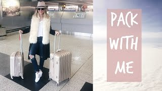 PACK WITH ME FOR NYC + OUTFIT IDEAS | ALEXANDREA GARZA