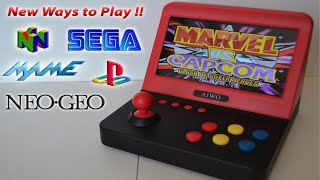This going to be the Next Generation of Portable Arcade Machines ?