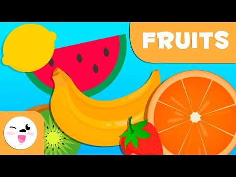 Learning Fruits Fun Way to Build Your Child's Vocabulary