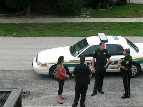 Broward Sheriff's Office responding and laughing to a very ...