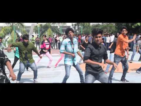 Flash Mob regalia arts fest Nirmala...