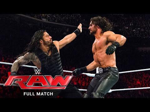 FULL MATCH - Roman Reigns vs. Seth Rollins: Raw, March 2, 2015
