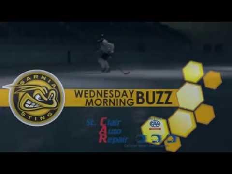 Sarnia Sting - Wednesday Morning Buzz