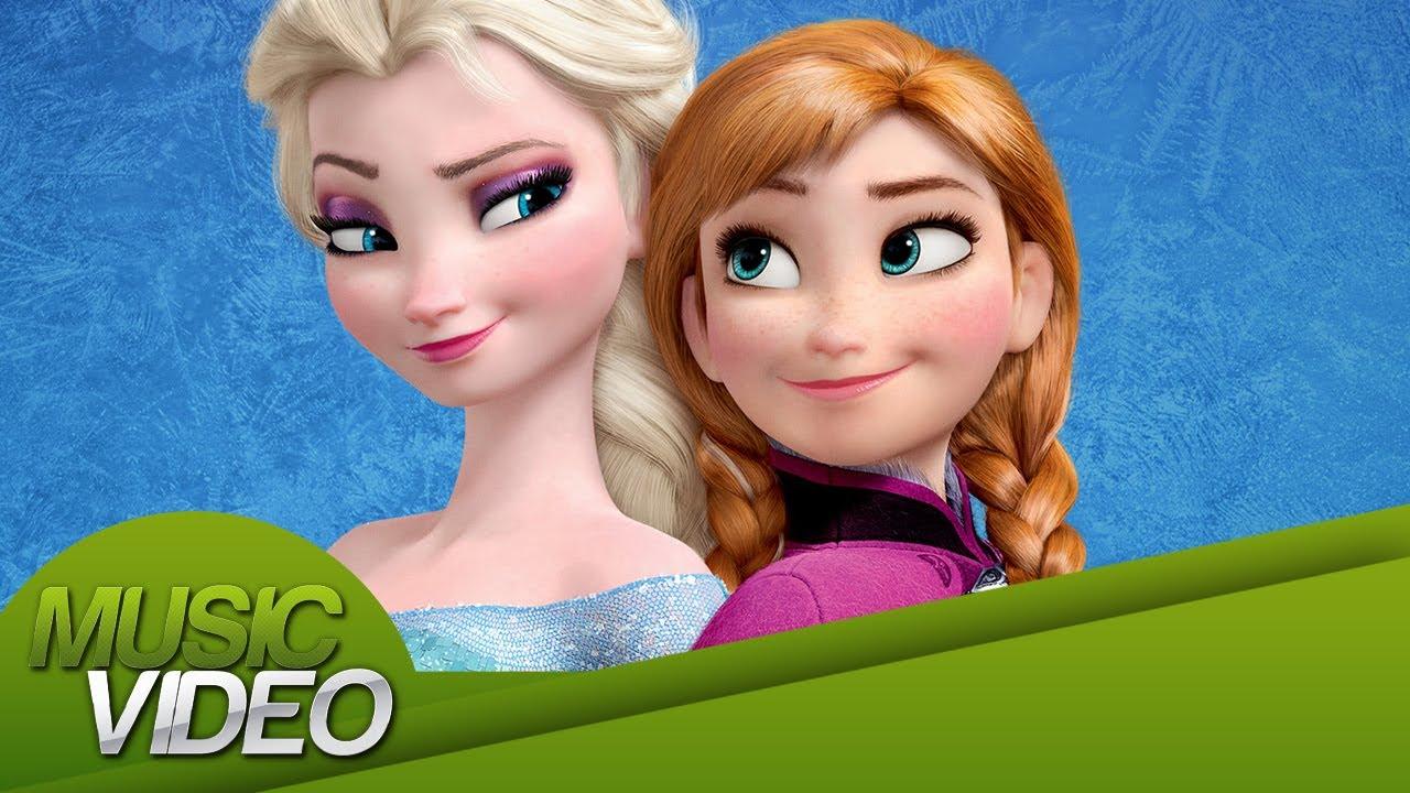 Music Video Frozen Una Aventura Congelada Finalmente Y Como