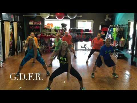 """""""Going Down For Real"""" GDFR dance fit routine  by 3D Dance and Fitness"""