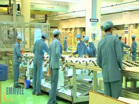EMMVEE Photovoltaic Modules Manufacturing Plant - Longer version