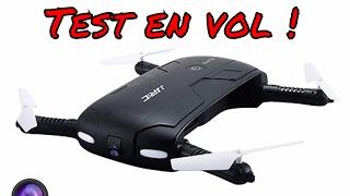 Elfie Drone Review Francais Selfie Drone caméra Wifi Test en Vol Review Complete par ThinkUnBoxing