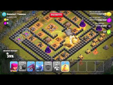 Clash Of Clans Level 50 - Sherbet Towers