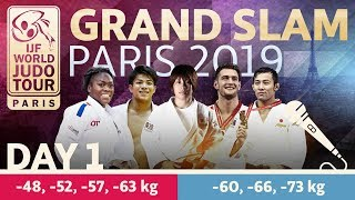 Grand-Slam Paris 2019: Day 1