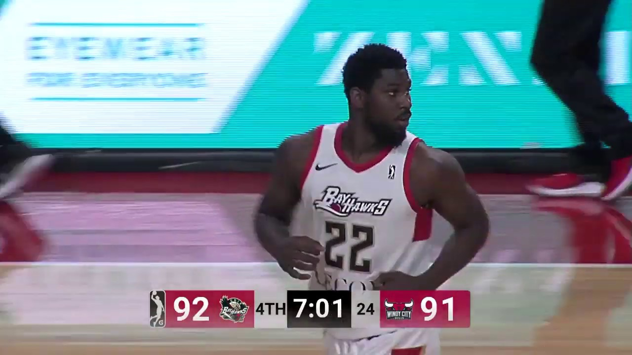 online store 80040 34c8f Hawks Two-Way Player Alex Poythress Dominated His Way To 22 PTS, 18 REB & 5  AST In BayHawks Win
