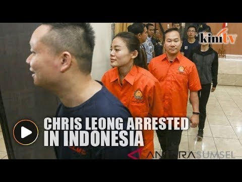 Chris Leong arrested over alleged visa violation