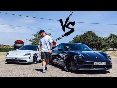 FIRST DRIVE: Porsche Taycan Turbo S vs 4s!!