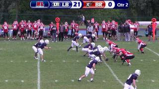 London Blitz v Berkshire Renegades - BAFANL Premiership South - 23rd June 2013