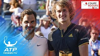 Alexander Zverev beats Roger Federer to win Montreal title | Coupe Rogers 2017 Final Highlights