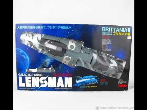 Lensman Galactic Patrol - Brittania II Spaceship