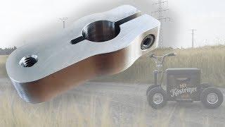Aluminiumteil für fahrende Bierkiste! / CNC-Fräse Eigenbau