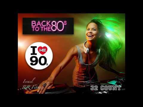 """""""80s 90s Mix"""" Step-Aerobic/Jump/Running #20 134-136 bpm 32Count 2017/18 Israel RR Fitness"""