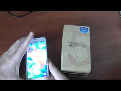 Samsung Galaxy S5 (SM-G900F) Unlock Tutorial - YouTube