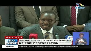 Nairobi MPs accusse Gov. Sonko of failing to deliver critical services