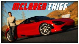 Stealing a MCLAREN   GTA 5 Roleplay (Ft. Treyten)
