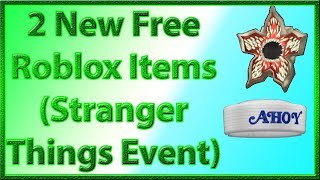 2 New *FREE* Roblox Items for the Stranger Things 3 Event | 2019 July