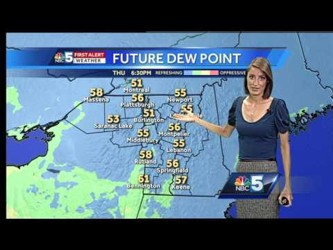 Video: Muggy & hot Friday with some storms 6/22/17