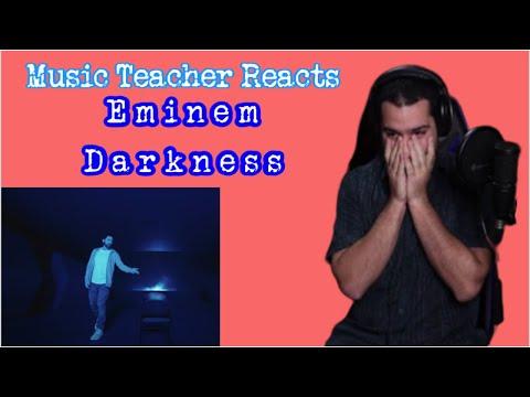 Music Teacher Reacts to Darkness by Eminem
