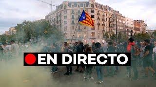 EN DIRECTO: Manifestación de estudiantes y CDR por el centro de Barcelona