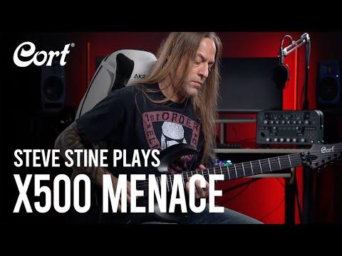 ⭐️New for 2021⭐️ Steve Stine plays the X500 Menace   X Series   Electric Guitars