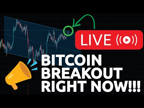 BITCOIN BREAKOUT RIGHT NOW!!!!!!!!!!! (Bitcoin to new all time highs?)