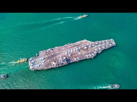 COVID 19 bremst US-Flugzeugträger aus, Experten rechnen mit Blackouts