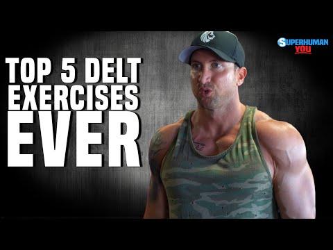 The 5 Best Shoulder Exercises Of All Time (BOULDER SHOULDERS!)