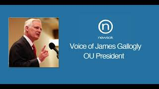 James Gallogly: One Year at OU