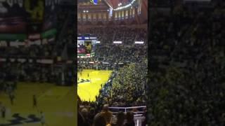 Coliseum is rockin