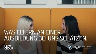 Was Eltern an einer Ausbildung bei der BMW Group schätzen I BMW Group Careers.